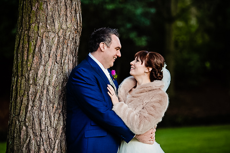 Wedding Portraits at Mottram Hall