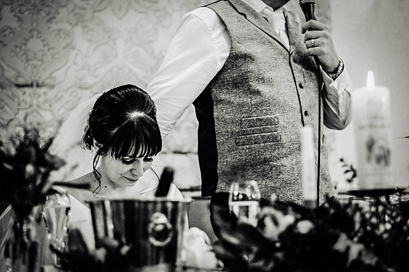 The Speeches at the Wedding at Mottram Halll
