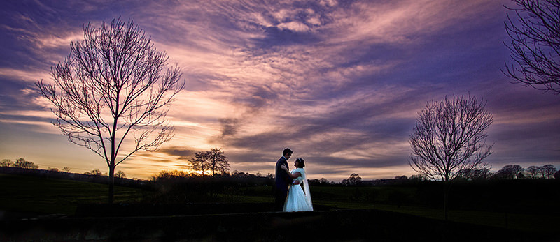 Ashes Endon Winter Weddings