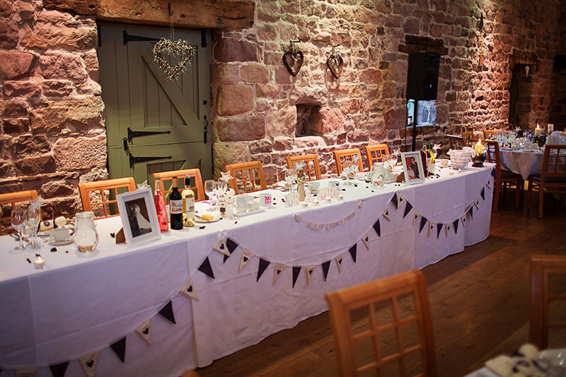 Ashes Endon Winter Weddings