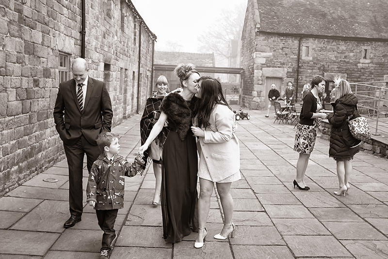 Reportage photography at weddings in staffordshire