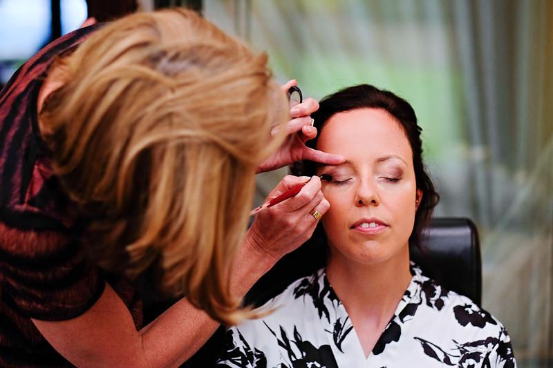 Brial prep makeup
