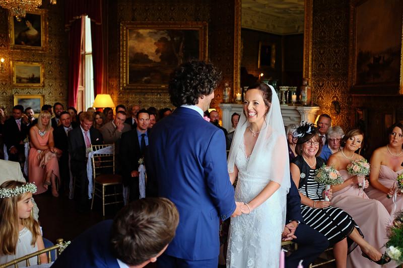 Wedding Ceremony at The Heath House