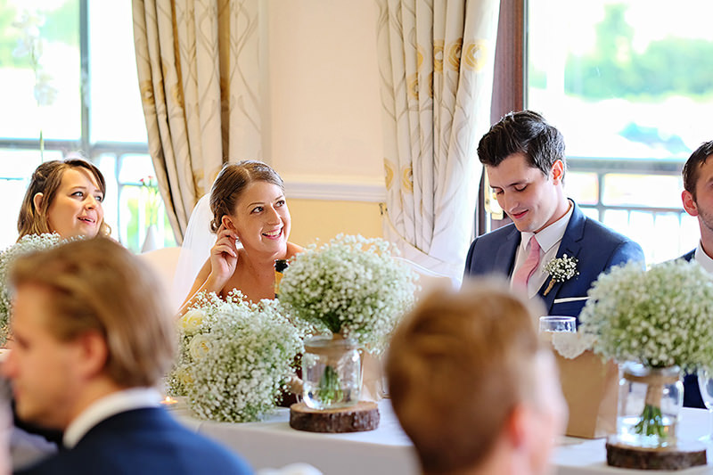 Westwood Golf Club Leek Wedding
