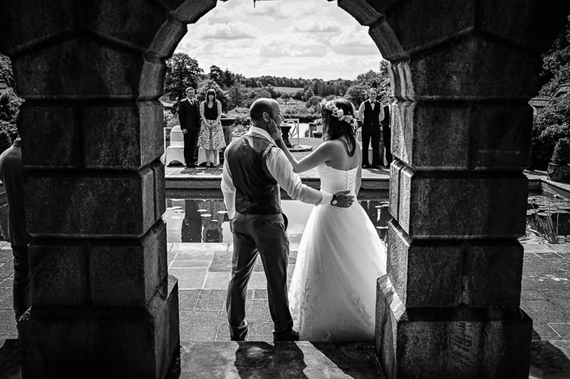 Consall Hall Gardens Wedding