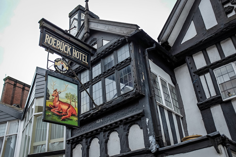 the roebuck pub leek
