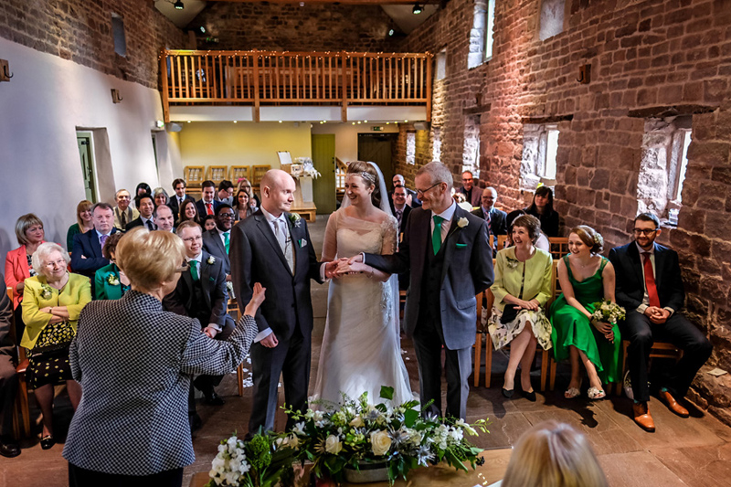 the ashes wedding ceremony