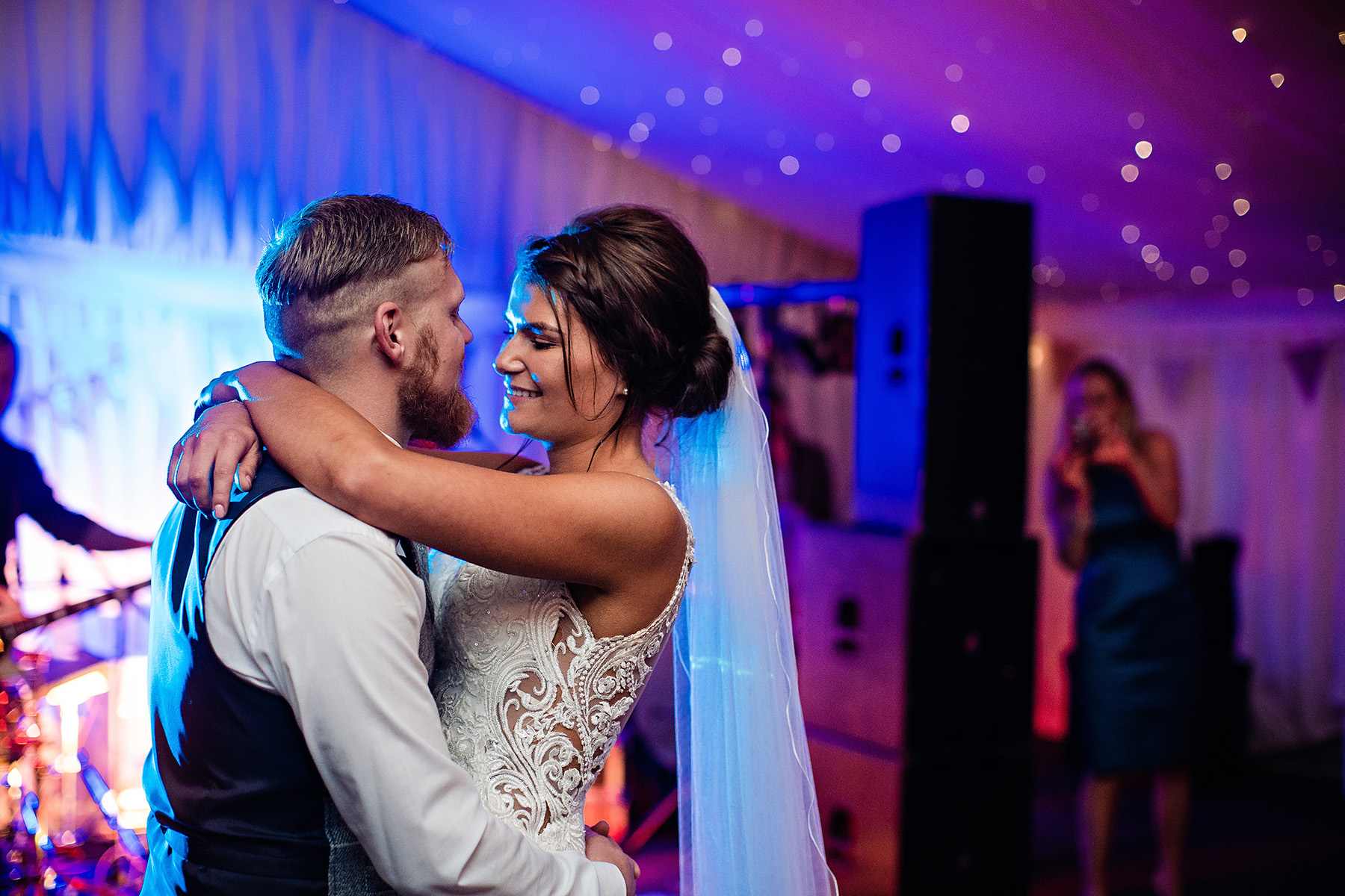 the first dance The Heath House Wedding Photography