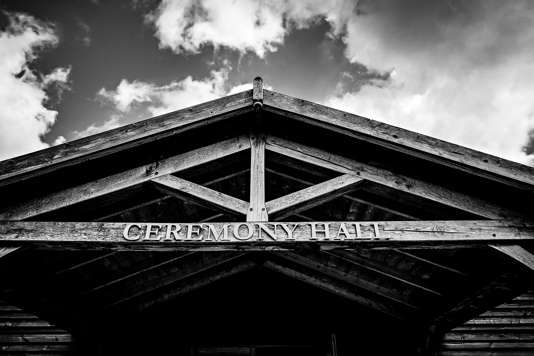 the cermeony hall at Colshaw Hall