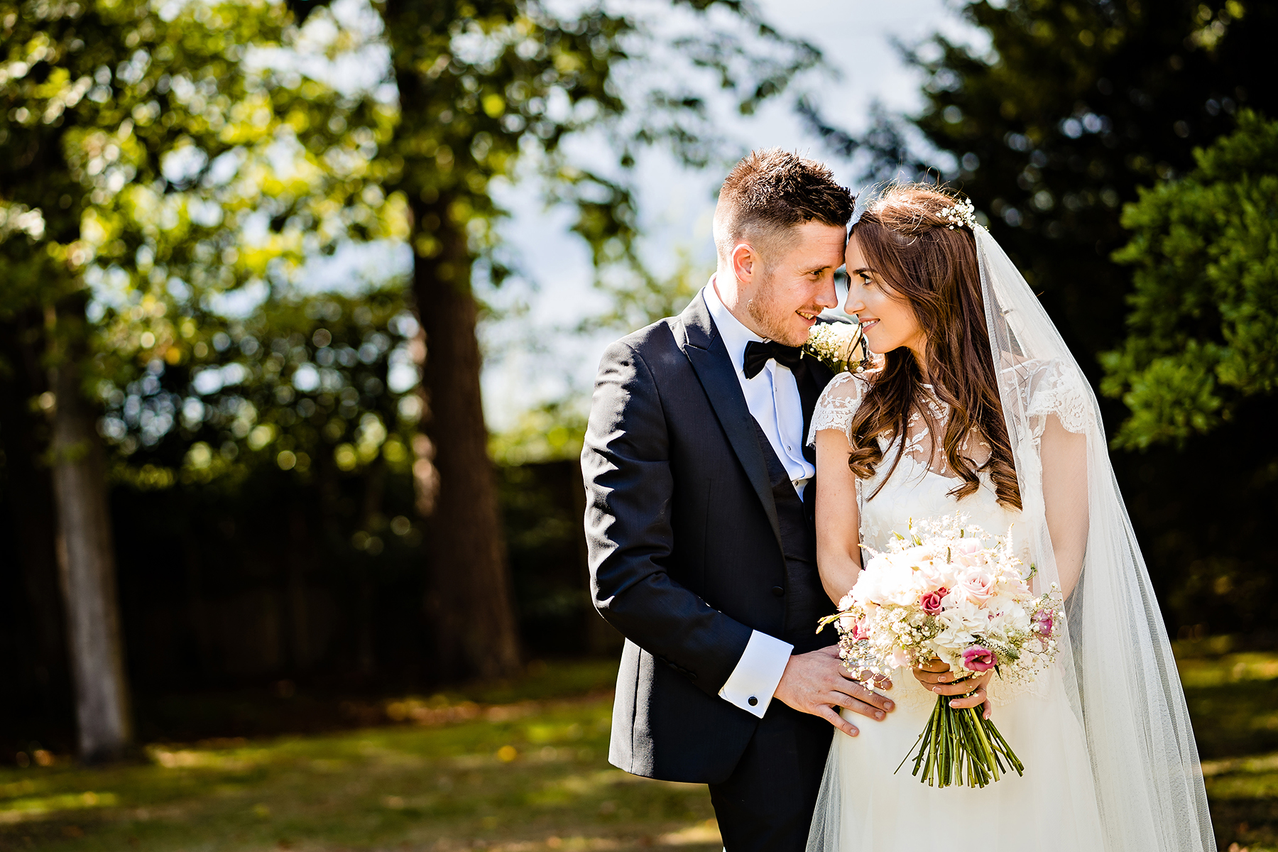 natural wedding photography at Colshaw Hall