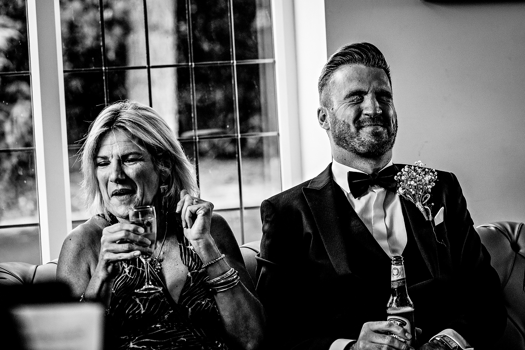 candid wedding photography at Colshaw Hall