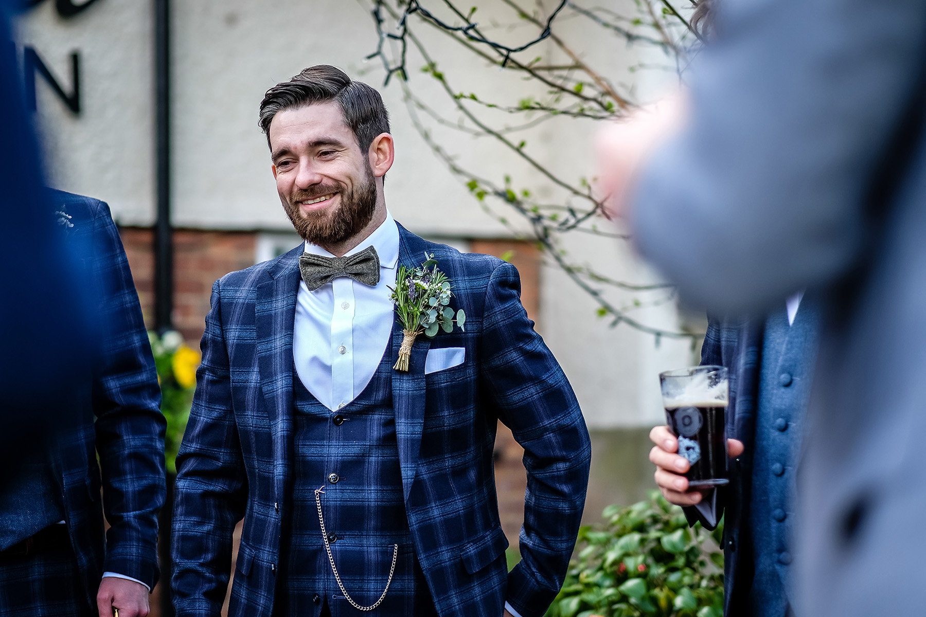 Groom at Dog and Doublet