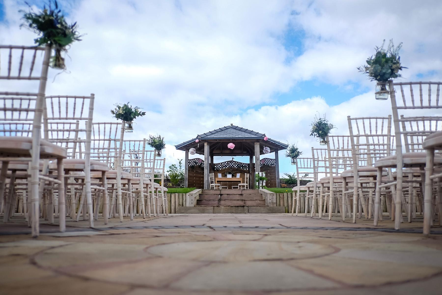 Aston Marina Ceremony Outdoors