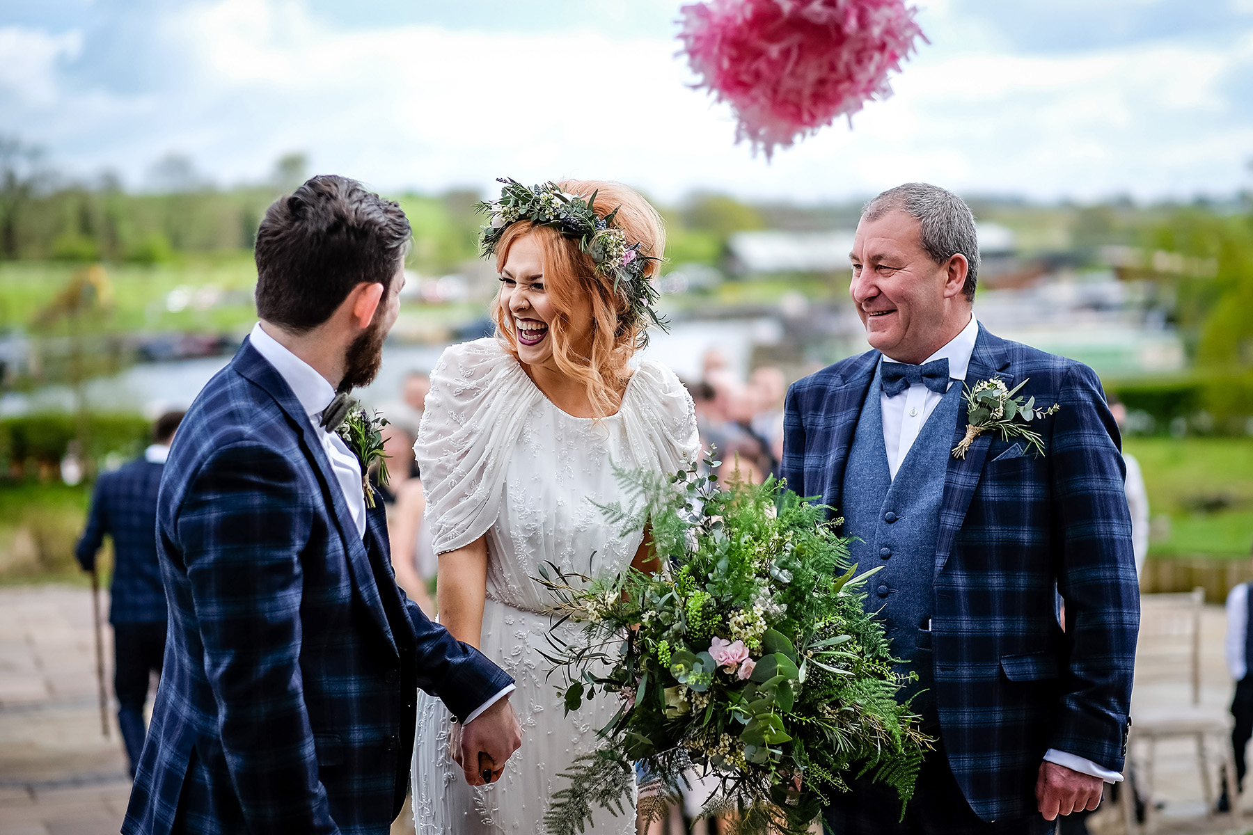Wedding ceremony at Aston Marina