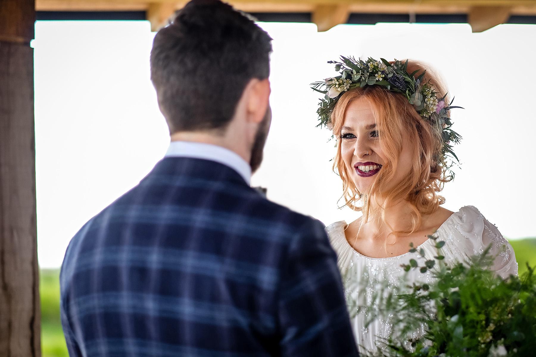 Wedding cermeony at Aston Marina