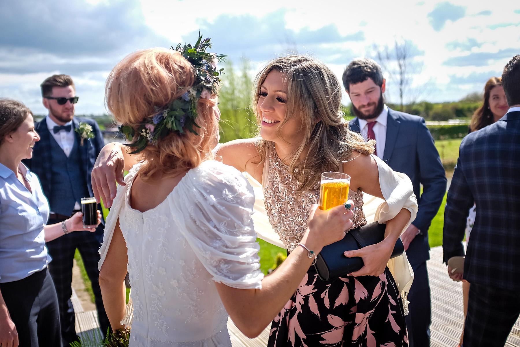 Wedding reception at Aston Marina