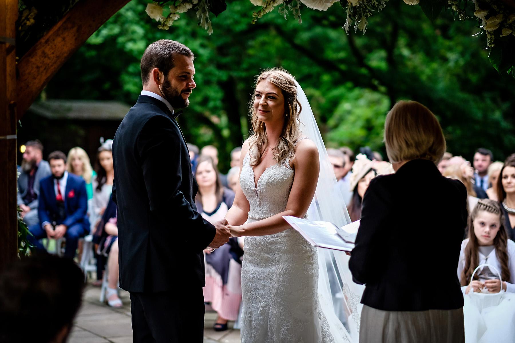 a Moddershall Oaks wedding photograph