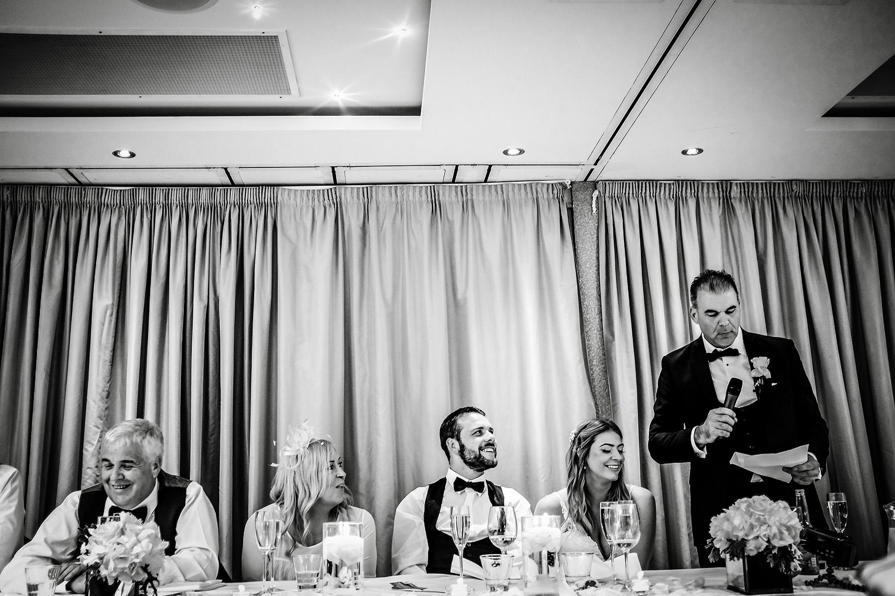 Moddershall Oaks wedding photos of speeches