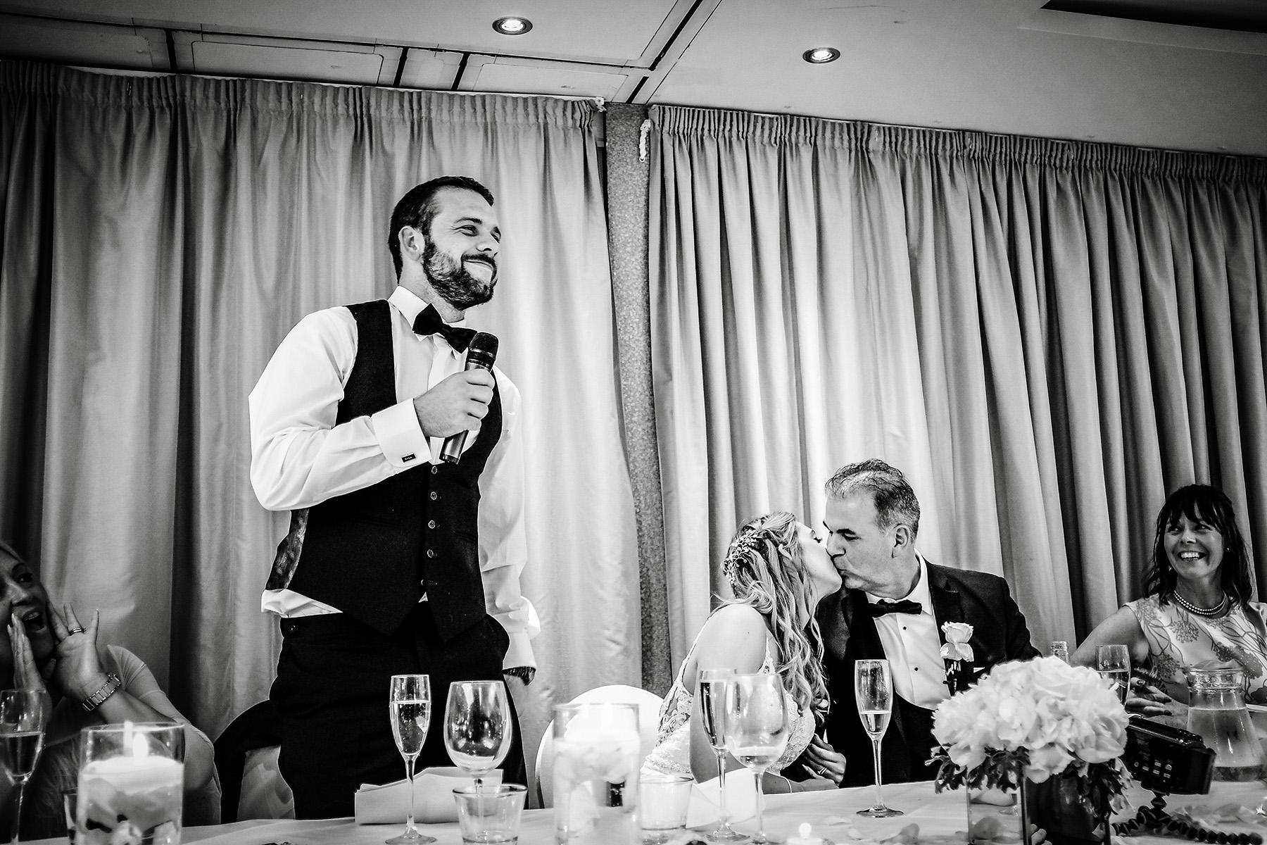 the grooms speech at Moddershall Oaks
