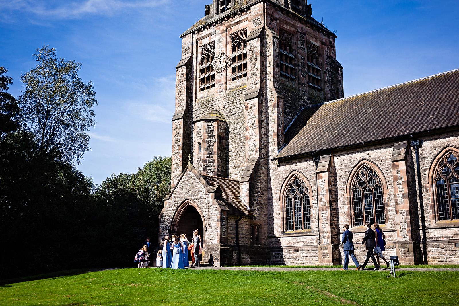 st chads church wedding photography