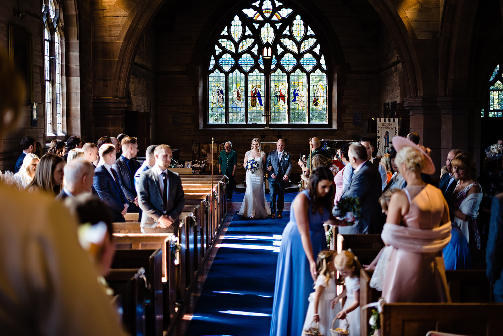 st chads church wedding photography