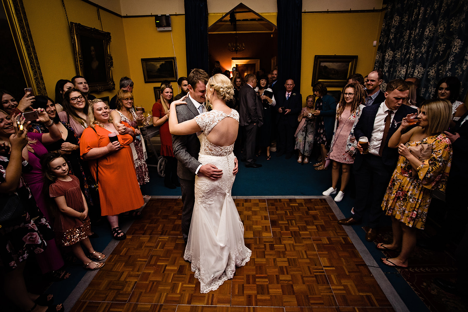 First dance at Dunwood Hall